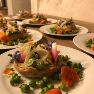 Maison-Mahti-restaurant-traiteur-chef-a-domicile-drome-rhone-alpes-mirmande-provence-saveurs- tarte printanière
