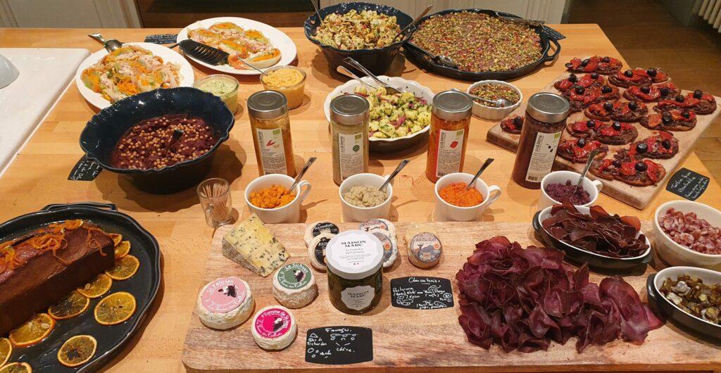 Maison-Mahti-repas de groupes-buffet-traiteur-chef-a-domicile-drome-rhone-alpes-mirmande
