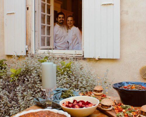 Maison Mahti restaurant traiteur chef a domicile drome rhone alpes mirmande provence-min